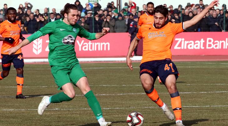Kırklarelispor, Süper Lig ekibi Başakşehir'i kupadan eledi