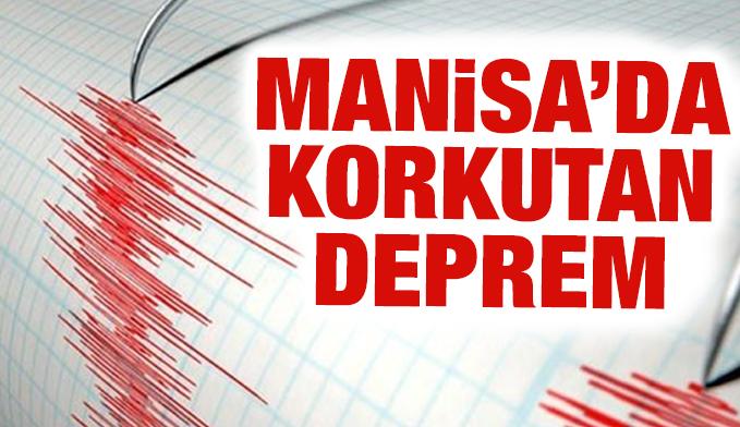 Manisa'da korkutan deprem! İstanbul ve İzmir'de de hissedildi!