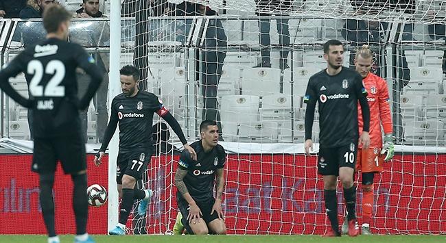 Beşiktaş, Kupa'ya veda etti!