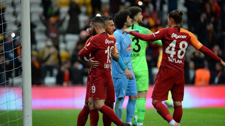 Galatasaray, Kupa'da son çeyrek finalist