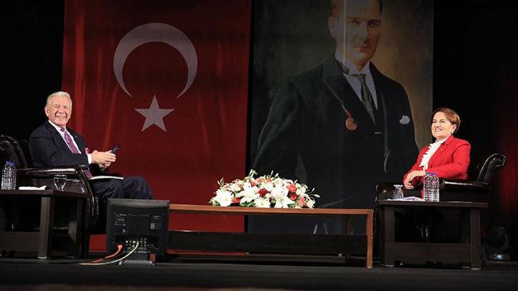 Uğur Dündar'ın konuğu Meral Akşener