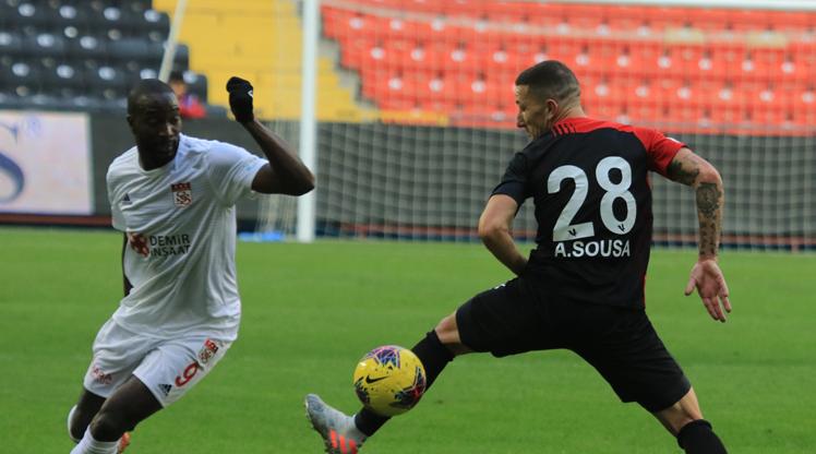 Gaziantep FK: 5 - DG Sivasspor: 1