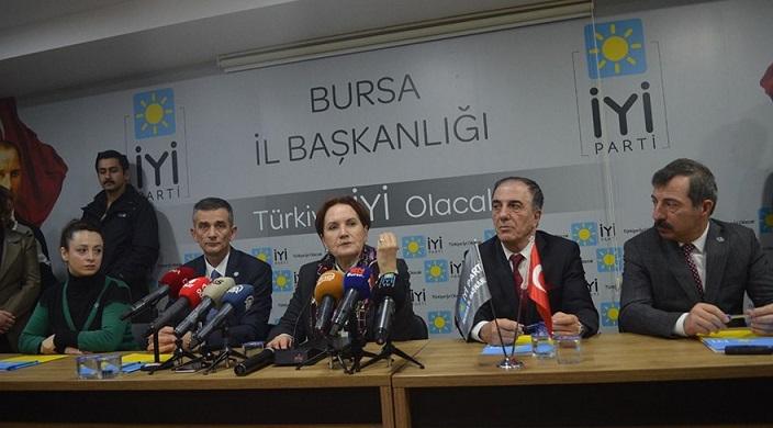 Meral Akşener: AKP 3Y ile geldi, 3Y'nin sahibi oldu