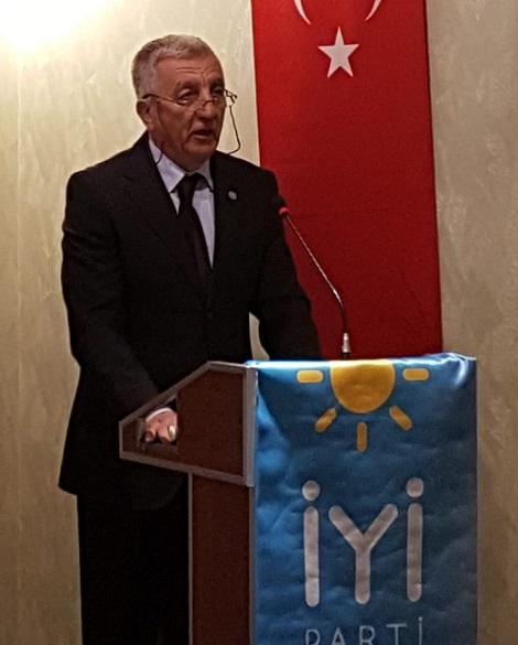 Ergün Yiğit, İYİ Parti Çankaya İlçe Başkanlığına adaylığını açıkladı