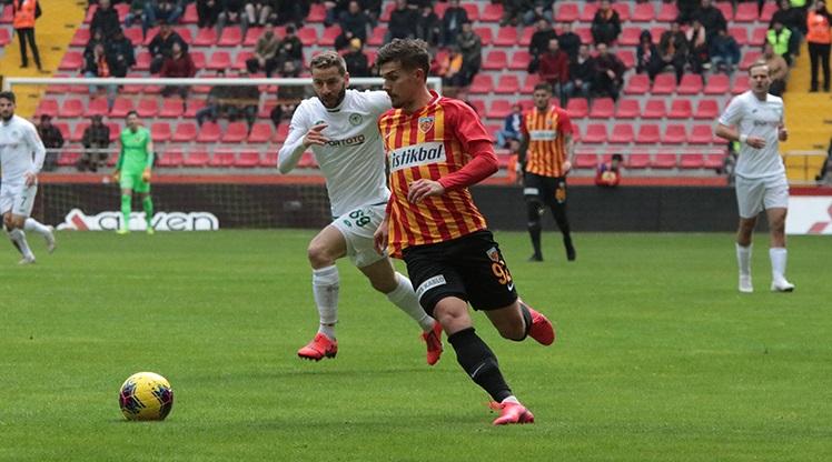 HK Kayserispor: 2 - İH Konyaspor: 2