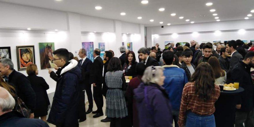 Çankırı'da 'resim çalıştayı' başarı ile tamamlandı