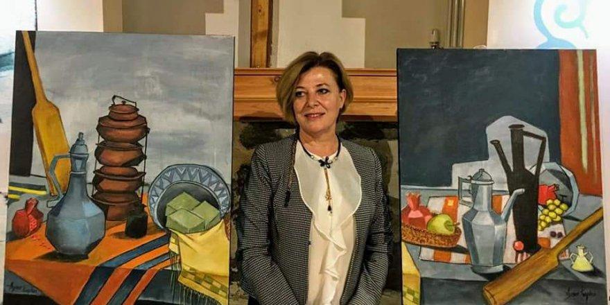 Aynur Mahmudova Kaplan'dan Ankara'da 28. Kişisel sergi...