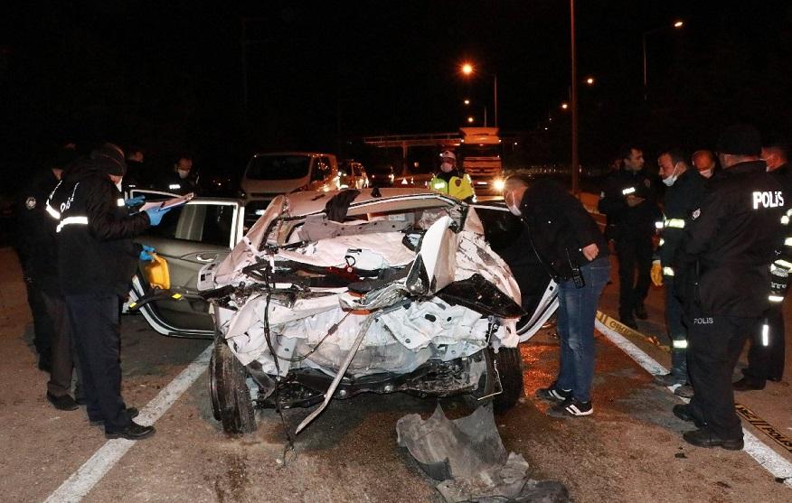 Burdur'da feci kaza: Bir ölü bir yaralı