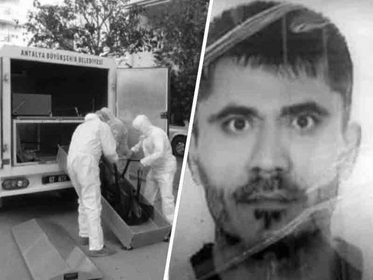 Antalya'da korona testinden kaçan kişi ölü bulundu