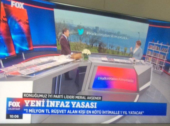 Meral Akşener sert çıktı... A Haber'i izleyeceklerini zannediyorlar