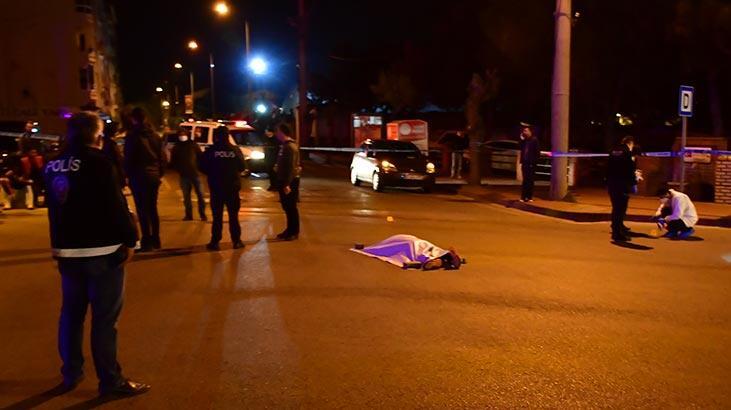 Akhisar'da gece yarısı korkunç cinayet