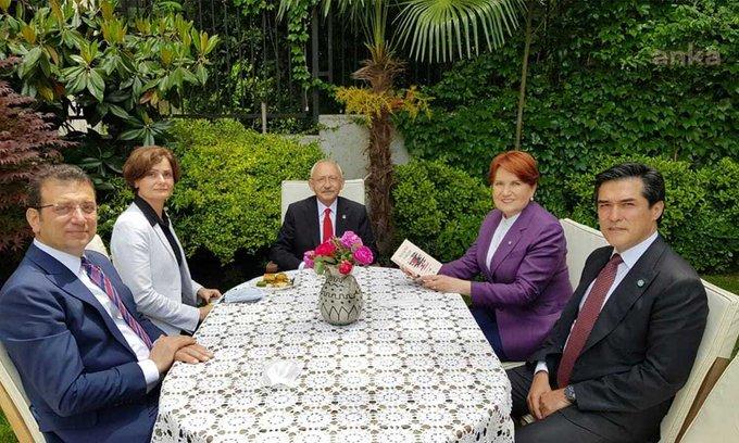 CHP lideri Kılıçdaroğlu'ndan Akşener'e bayram ziyareti