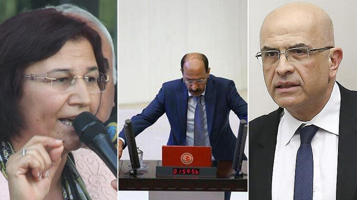 Bir CHP'li, 2 HDP'li vekilin vekilliği düşürüldü