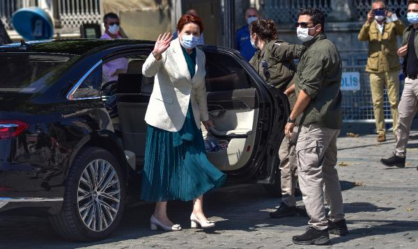 Meral Akşener Ayasofya'ya gitti