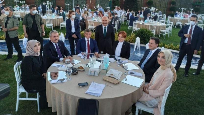 Akşener, Davutoğlu, Babacan ve Destici nerede buluştu
