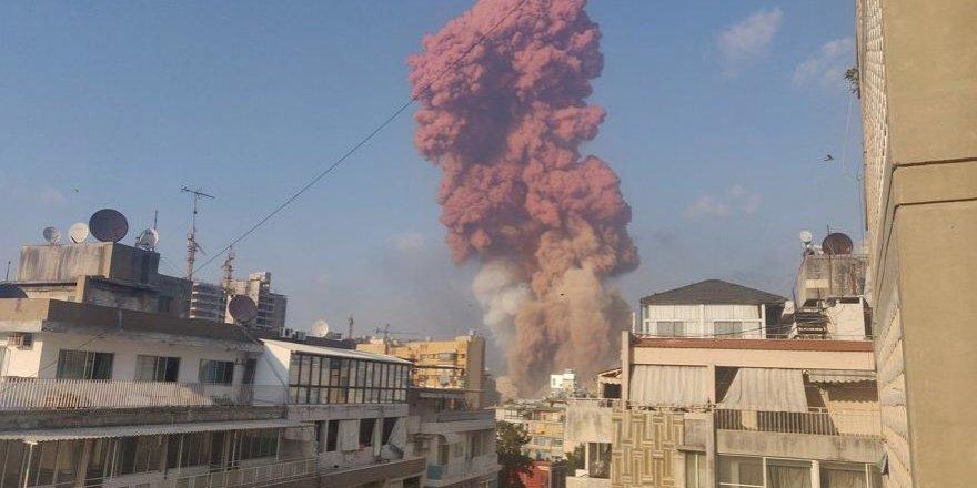 Ölü sayısı her dakika artıyor! Beyrut cehennemi yaşıyor!