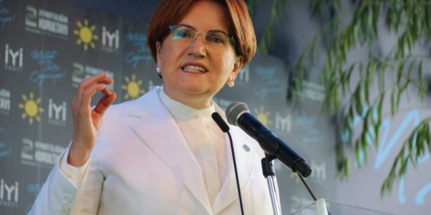 Akşener'den partideki kriz iddialarına ilişkin ilk açıklama:Kriz değil, parti içi demokrasi