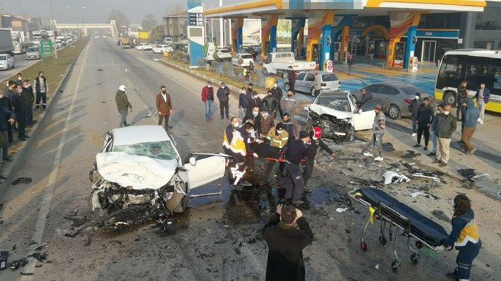 Bursa'da kafa kafaya kaza: Bir ölü, ikisi ağır 4 yaralı