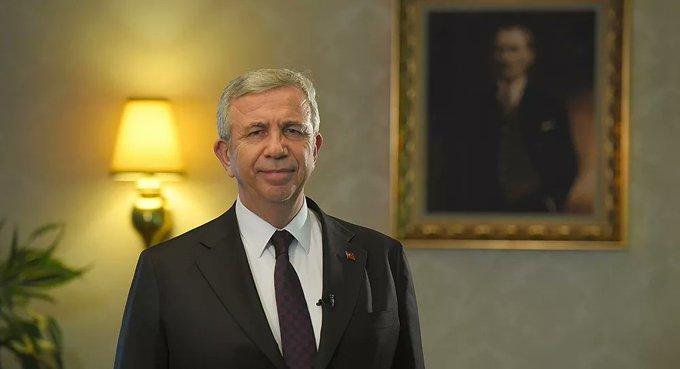 Mansur Yavaş'a, 2021 Dünya Belediye Başkanı Başkent Ödülü