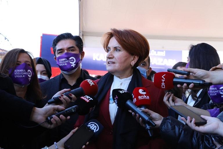 Akşener: Türkiye'yi zora sokacak bir hamlede bulunmayacağım