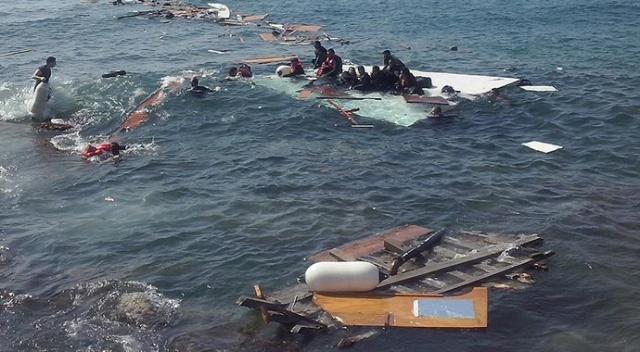 Libya açıklarında facia! En az 43 göçmen öldü