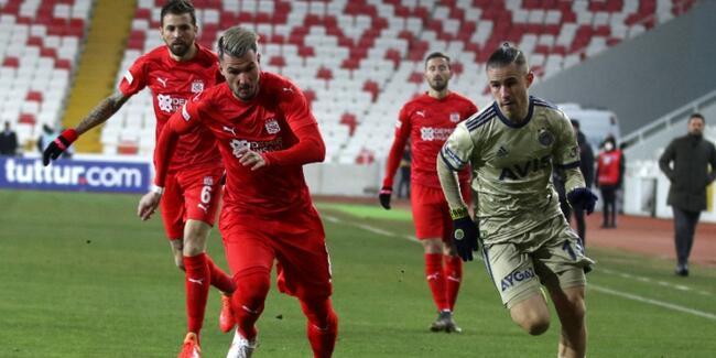 DG Sivasspor: 1 - Fenerbahçe 1
