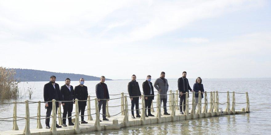 İYİ Parti Gençlik Politikaları Başkanlığı'ndan Ulubat gölü incelemesi