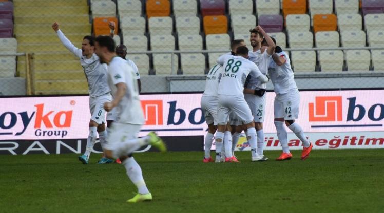 Yeni Malatyaspor: 2 - İH Konyaspor: 3