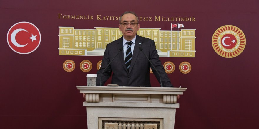 Tatlıoğlu, TBMM Uygur Türklerine uygulanan mezalime karşı ortak bir karar alarak uluslararası topluma ilan etmelidir