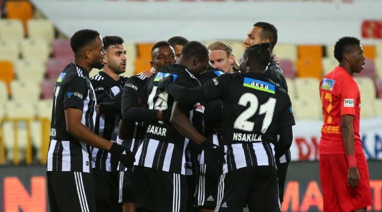 Yeni Malatyaspor: 0 - Beşiktaş: 1