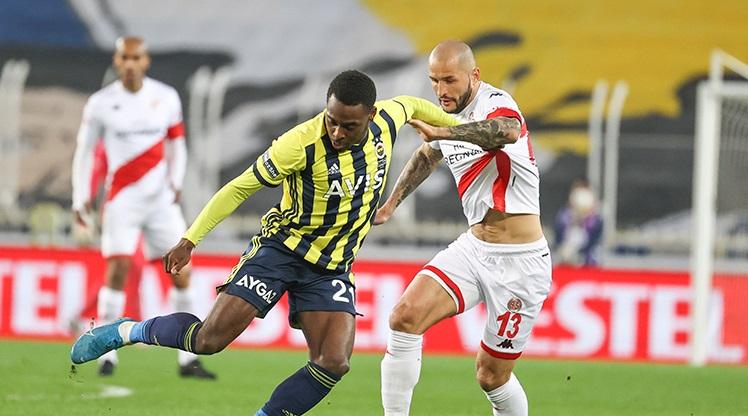Fenerbahçe: 1 - FTA Antalyaspor: 1