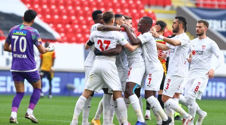 Göztepe: 3 - DG Sivasspor: 5