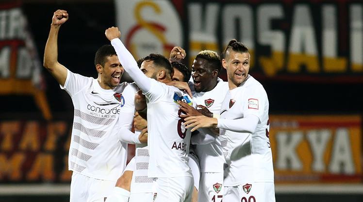Atakaş Hatayspor: 3 - Galatasaray: 0