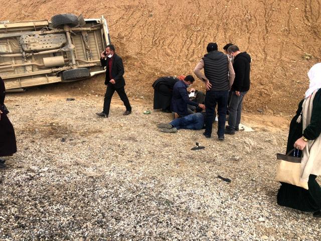Van/Başkale'de feci kaza: 2 Ölü, 4 yaralı