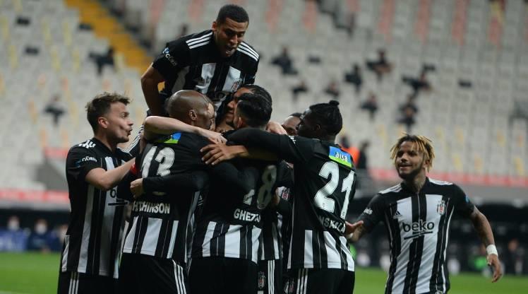 Beşiktaş: 7 - Atakaş Hatayspor: 0