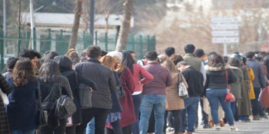 TÜİK'e göre işsizlik yüzde 13,1'e geriledi