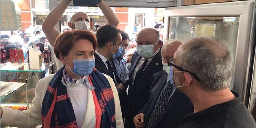 Meral Akşener Zonguldak'ta: Dertlerden kaçmak için vatandaşın yanına gelemiyorlar