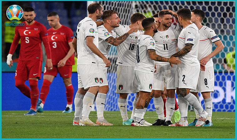 Milli Takımımız, İtalya'ya 3-0 mağlup oldu
