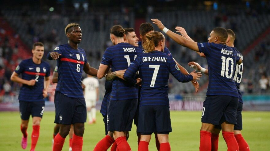Fransa, Almanya'yı Münih'te dağıttı: 1-0