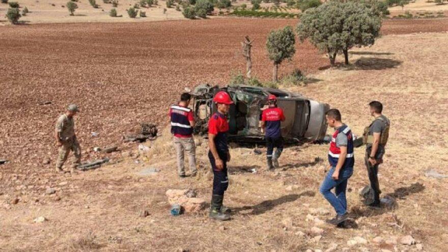 Mardin'deki kazada iki asker hayatını kaybetti