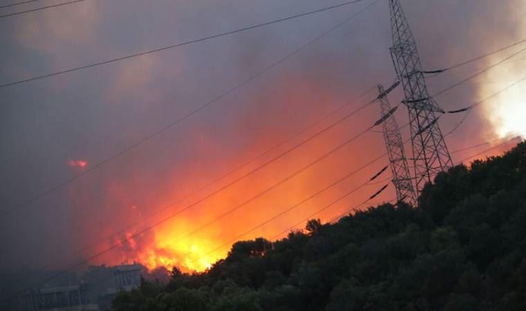 Milas'ta alevler Kemerköy Termik Santrale sıçradı!