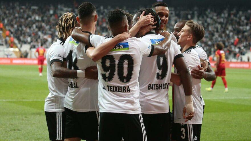 Beşiktaş: 3 - Yeni Malatyaspor: 0