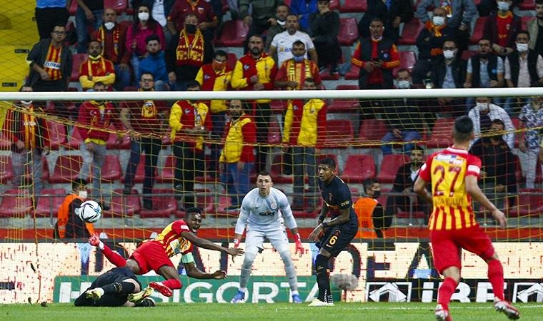 Yukatel Kayserispor: 3 - Galatasaray: 0