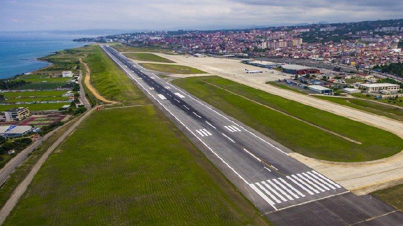 Trabzon Havalimanı yine kapatıldı
