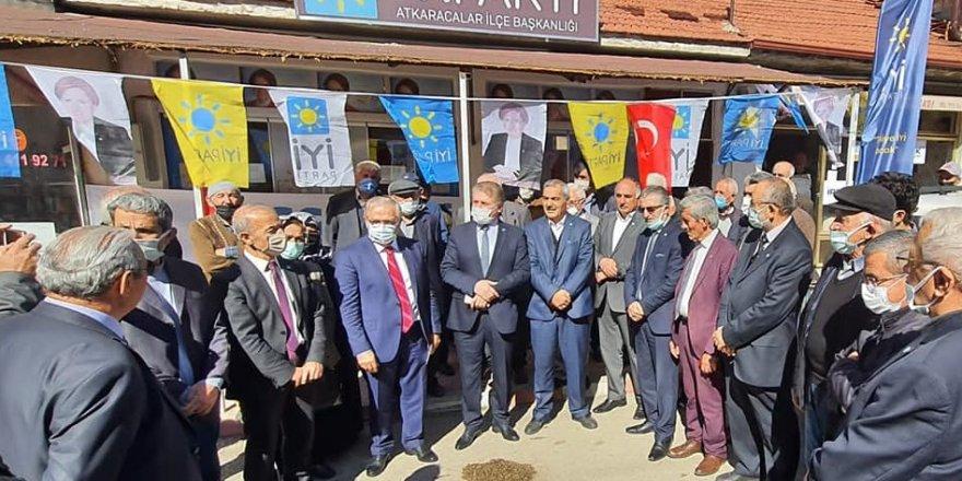 İYİ Parti Çankırı/Atkaracalar İlçe Başkanlığı açılışı yapıldı