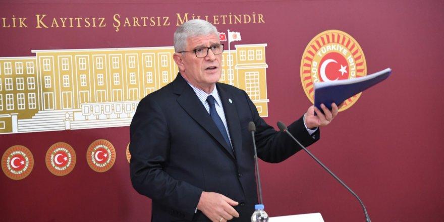 """Müsavat Dervişoğlu; """"Cumhurbaşkanı vatandaşını tehdit etmez."""""""