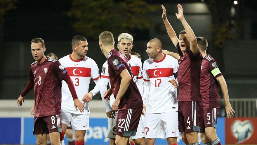 Letonya: 1 - Türkiye: 2