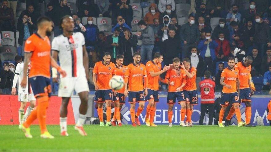 Başakşehir FK: 3 - Beşiktaş: 2