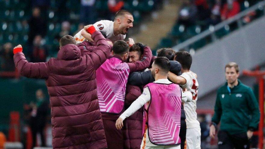 Lokomotiv Moskova: 0 - Galatasaray: 1