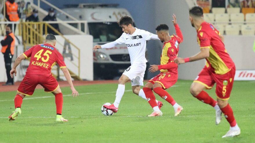 Öznur Kablo Yeni Malatyaspor: 2 - Altay: 1
